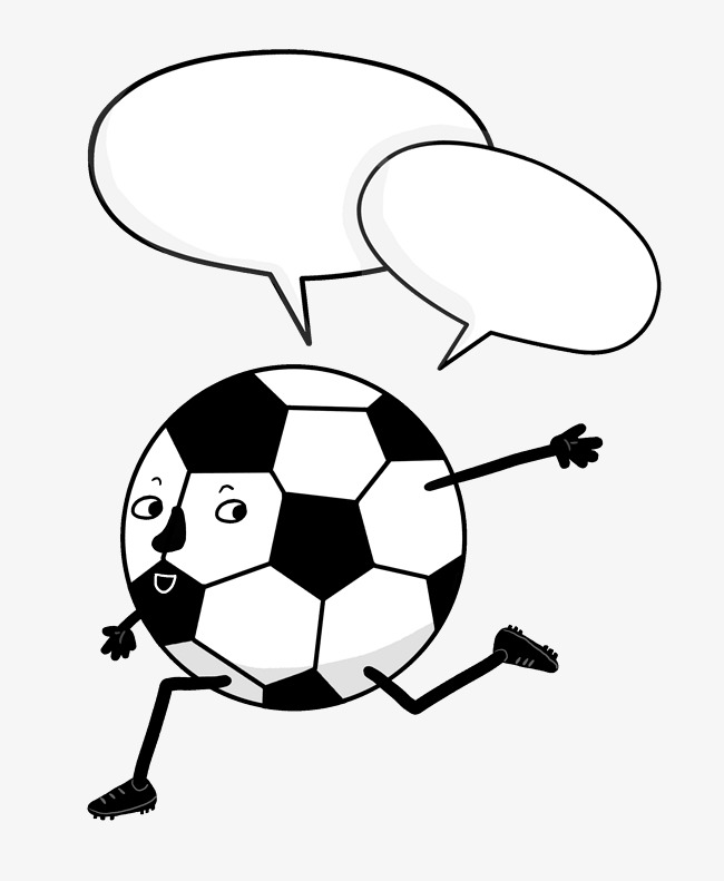 卡通手绘世界足球日足球