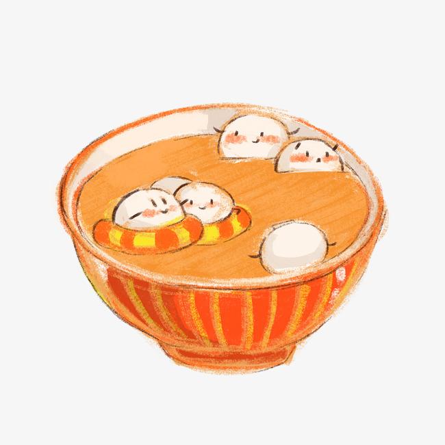 元宵节卡通汤圆插画图片素材 其他格式 下载 动漫人物大全