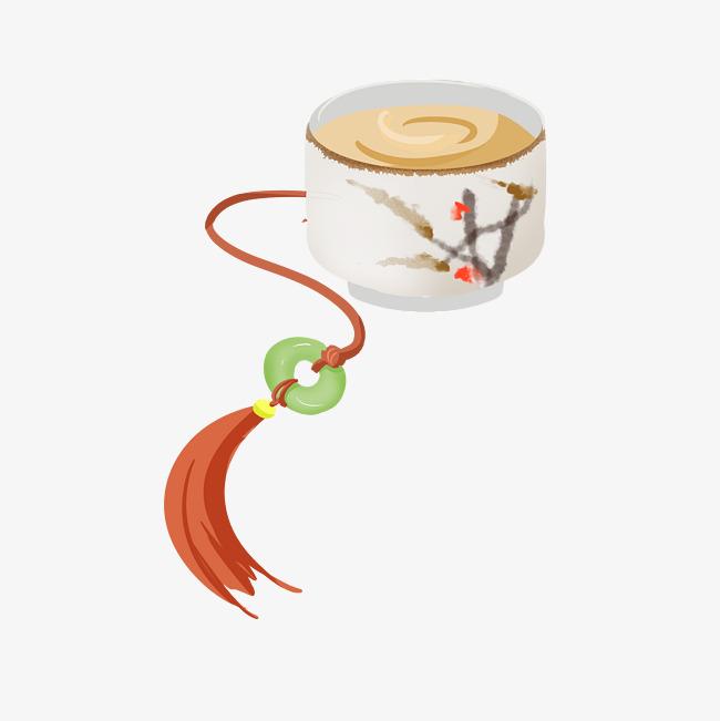中国风茶杯精致瓷器手绘茶杯