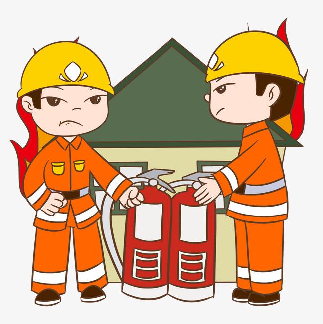 消防安全灭火器插画图片素材 其他格式 下载 动漫人物大全