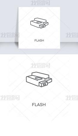 闪光灯图标设计 闪光灯图标模板下载 闪光灯图标界面设计图片 我图网