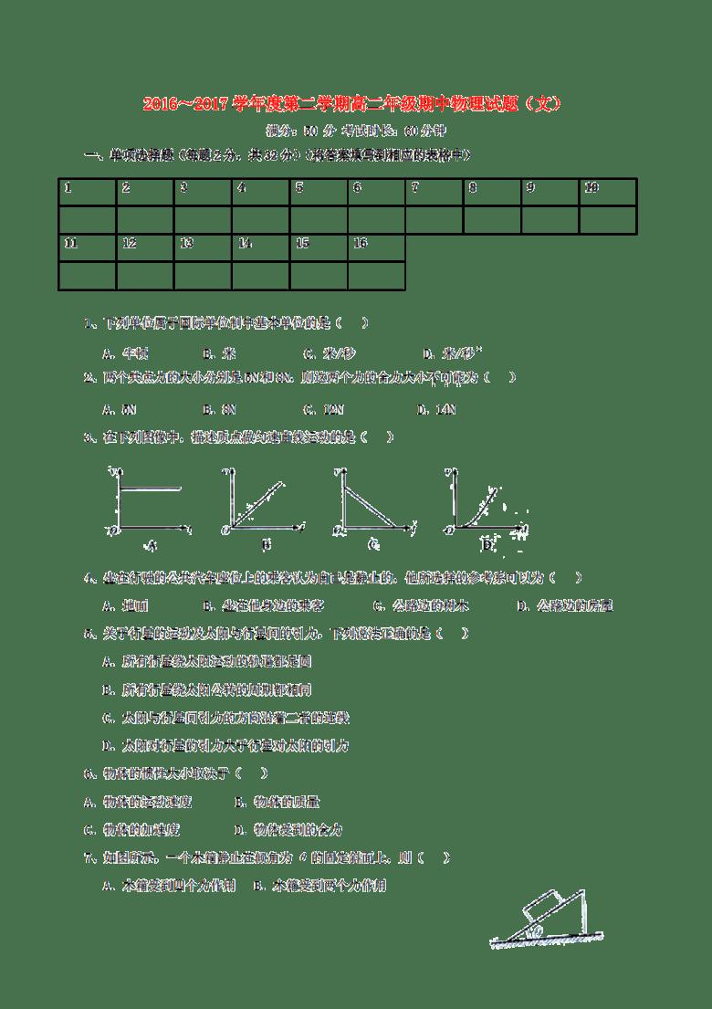内蒙古包头市青山区2016-2017初中物理高二下辅导班学年怎么办手续图片