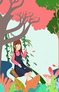 春风卡图片素材 春风卡图片素材下载 春风卡背景素材 春风卡模板下载 我图网