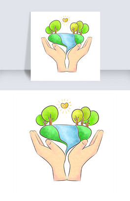 PSD双手托地球 PSD格式双手托地球素材图片 PSD双手托地球设计模板 我图网