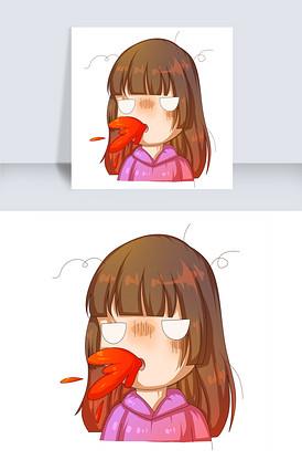 图片表情图片_素材表情表情_女生大全心疼聊天图片女生带字女生表情图片
