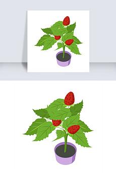 草莓树图片素材 草莓树图片素材下载 草莓树背景素材 草莓树模板下载 我图网