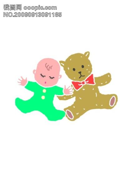 婴儿宝宝矢量图4