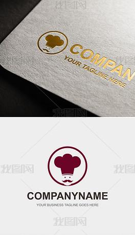 厨师LOGO赏析餐饮美食标志设计餐馆标识