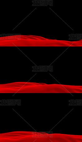 红绸无缝循环【带通道】