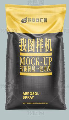 大米袋食品塑料包装袋样机模型