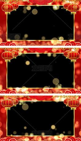 2020恭贺新春拜年视频框通道循环