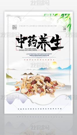 时尚中医养生中国风海报