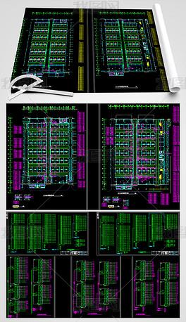展览中心电气CAD全套设计图