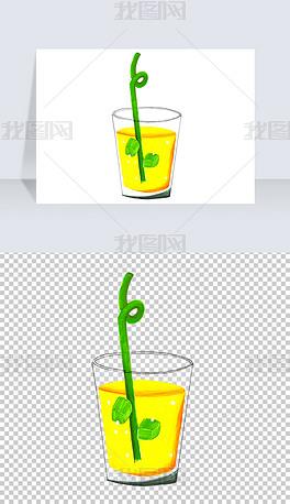 手绘冷饮饮料PNG