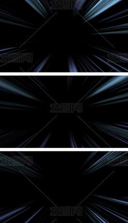 4K时光隧道光线穿梭通道叠加元素