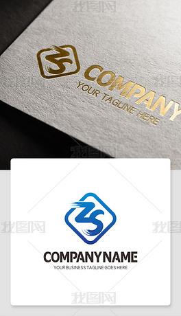 字母zs开头的LOGO设计欣赏zs型标志