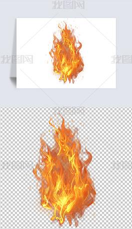 火焰火苗免扣元素2