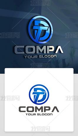 TD字母标志TD字母商标TD字母LOGO
