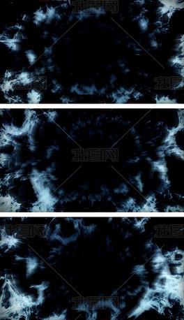 4K深邃虫洞黑洞吞噬万物科幻视频背景