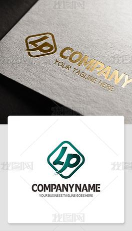 关于LP字母的LOGO设计欣赏CDR标志
