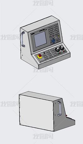 808控制机实体模型