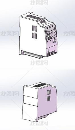 台达变频器实体模型(含STP)