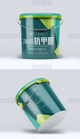 高端抗甲醛油漆包装设计