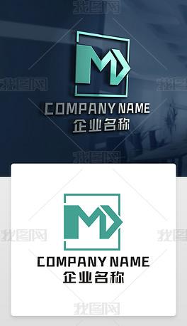 MD字母标志MD标志DM字母标志DM标志设计