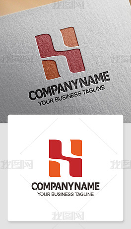 H开头logo设计H元素标志公司标志设计赏析