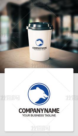 狼logo标志简洁干净logo含义