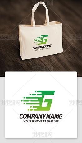 英文G字母logo设计G形标志标识ai格式