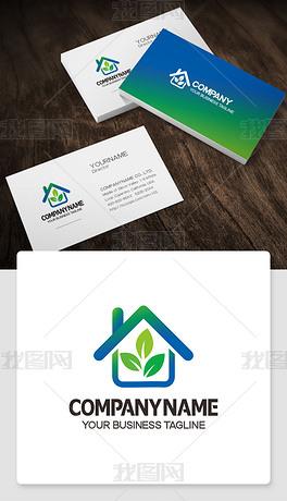 房地产logo标志商标cdr模板高端标志模版