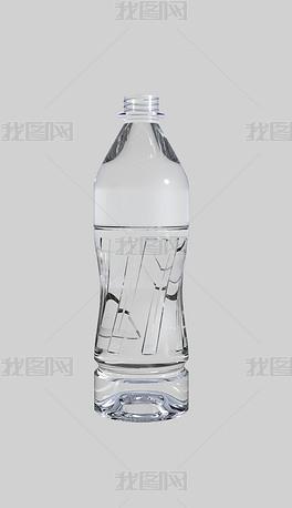 矿泉水纯净水瓶子犀牛模型