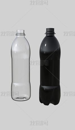 可乐瓶汽水瓶子犀牛模型