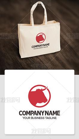 牛logo标志网店网站商标商标cdr模板