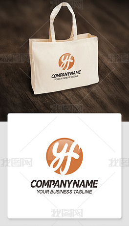 yf型logo设计yf形标志商标cdr模板
