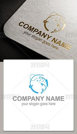 钓鱼海钓logo
