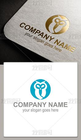 猫头鹰logo头像商标
