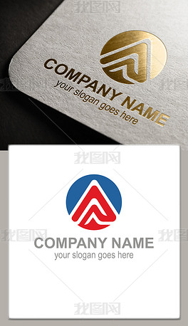 A字母公司logo