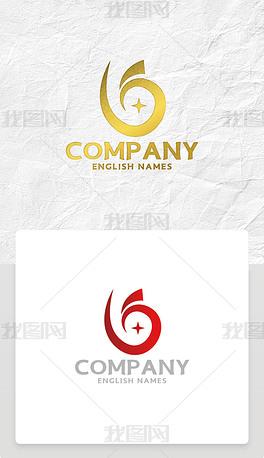凤凰鸟标志金融LOGO设计