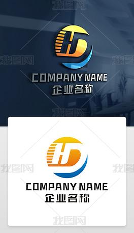 HD字母标志HD标志DH字母标志DH标志设计