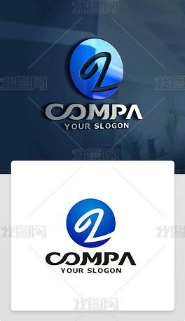 原创精品创意简约Z字母标志Z字母LOGO设计