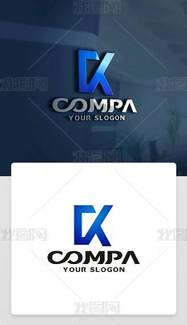 CK字母LOGO设计CK字母标志CK字母商标