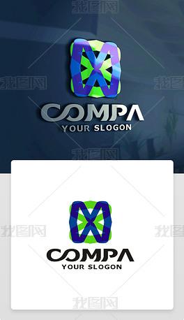 X字母LOGO设计X字母标志X字母商标