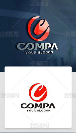 C字母LOGO设计C字母标志C字母商标