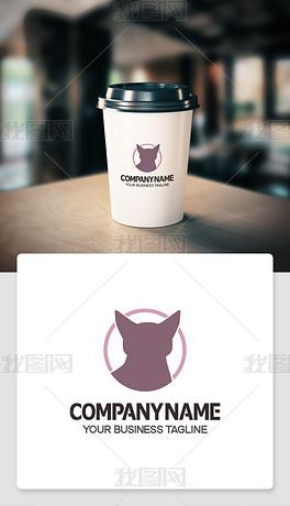 狗logo标志淘宝店铺logo标志