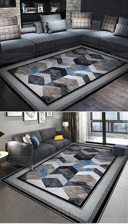 现代皮毛地毯