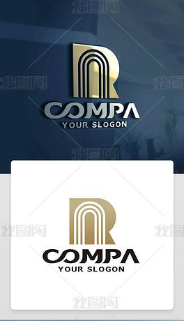 NR字母LOGO设计NR字母标志NR字母商标