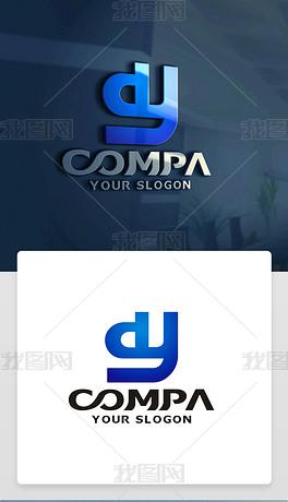 DY字母LOGO设计DY字母标志DY字母商标