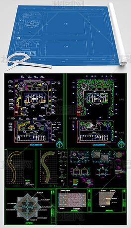 某厂区景观CAD施工图